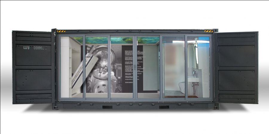 Autonomous Eco Container Cabin front