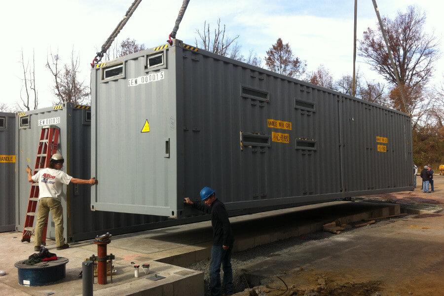 High security facility installation
