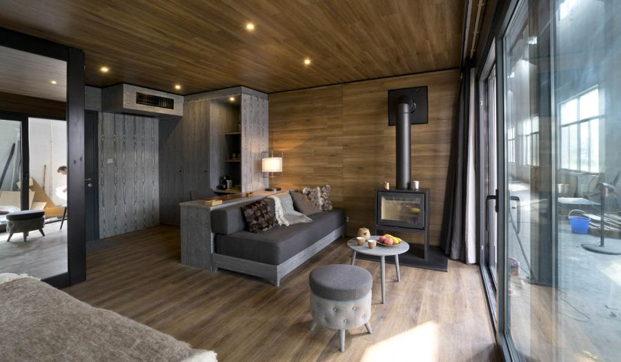 XCUBE Luxury Modular Hotelroom inside