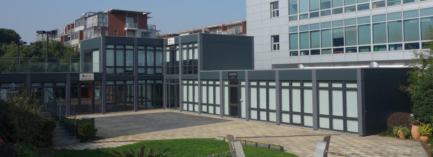 XCUBE modular office