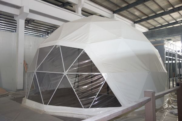 Modular Eco Resort Dome outside