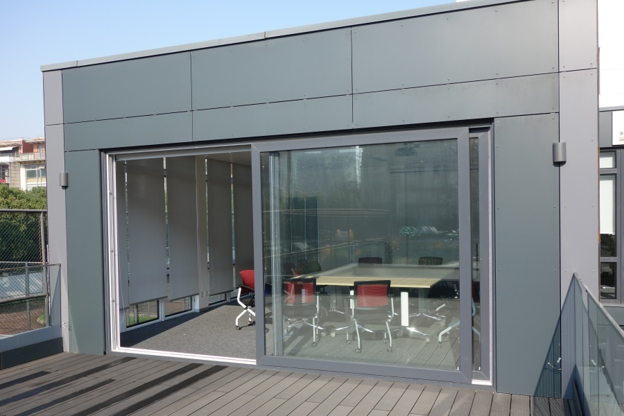 Modular Office and showroom German Centre Shanghai balkony