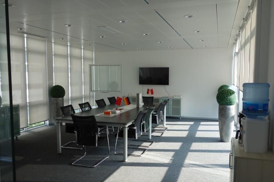 Modular Office and showroom German Centre Shanghai Meetingroom 2