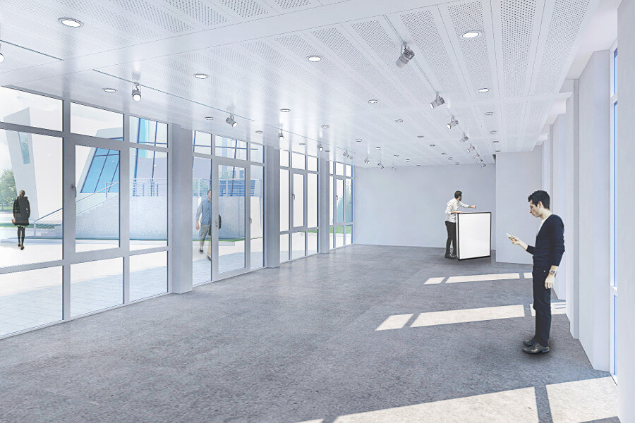 Modular Office and showroom German Centre Shanghai