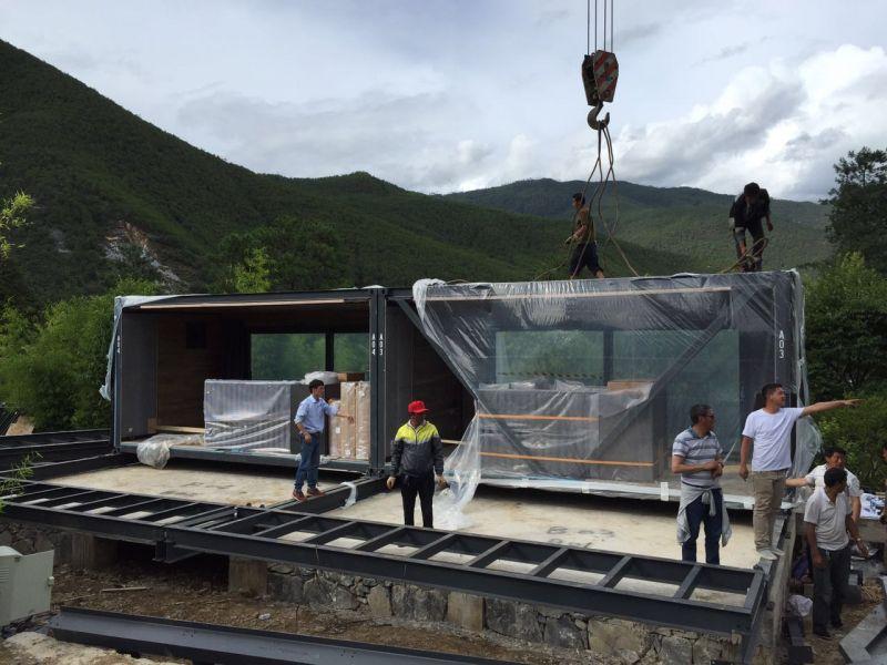 XCUBE Luxury Modular Hotel Installation