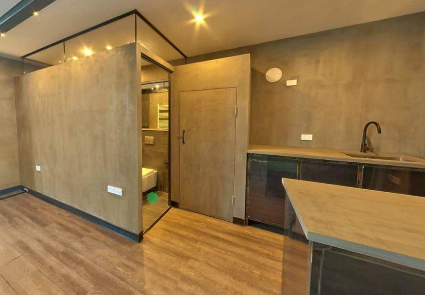 FLEXeCUBE modular pod interior bathroom and kitchen