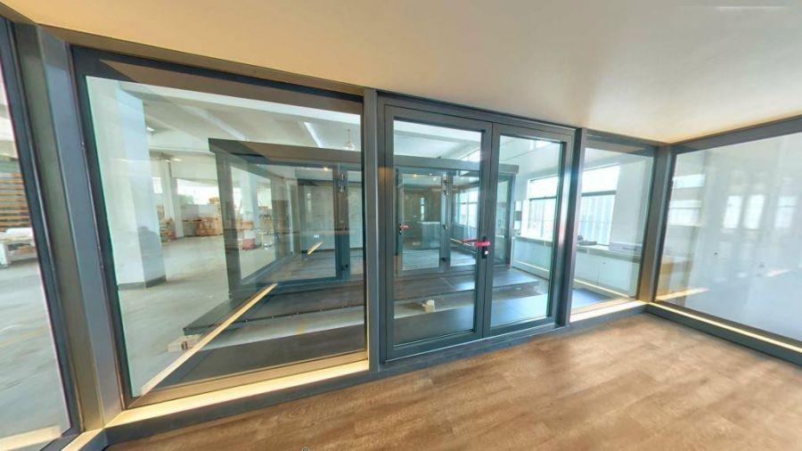 FLEXeCUBE modular pod living space view