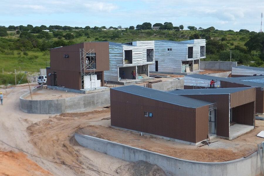 Mozambique Light Gauge Steel Villa
